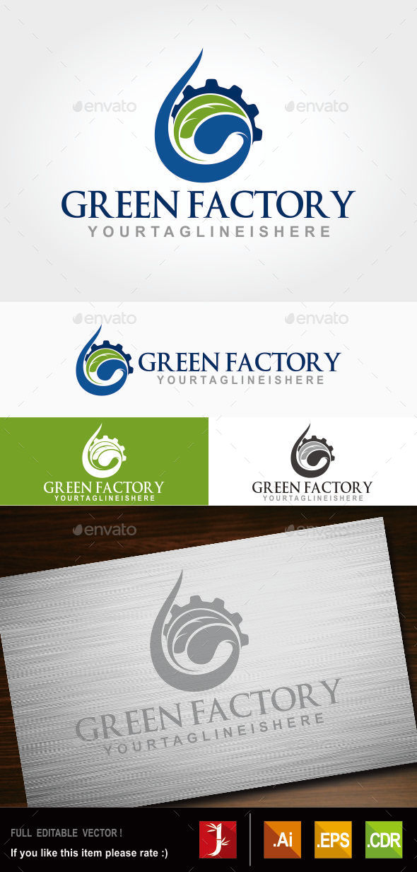 GraphicRiver Green Factory 10828244