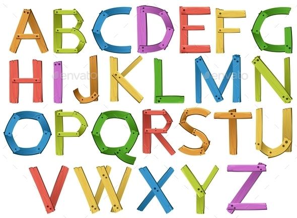 GraphicRiver Alphabets 10828245
