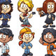 Kids Occupations - GraphicRiver Item for Sale