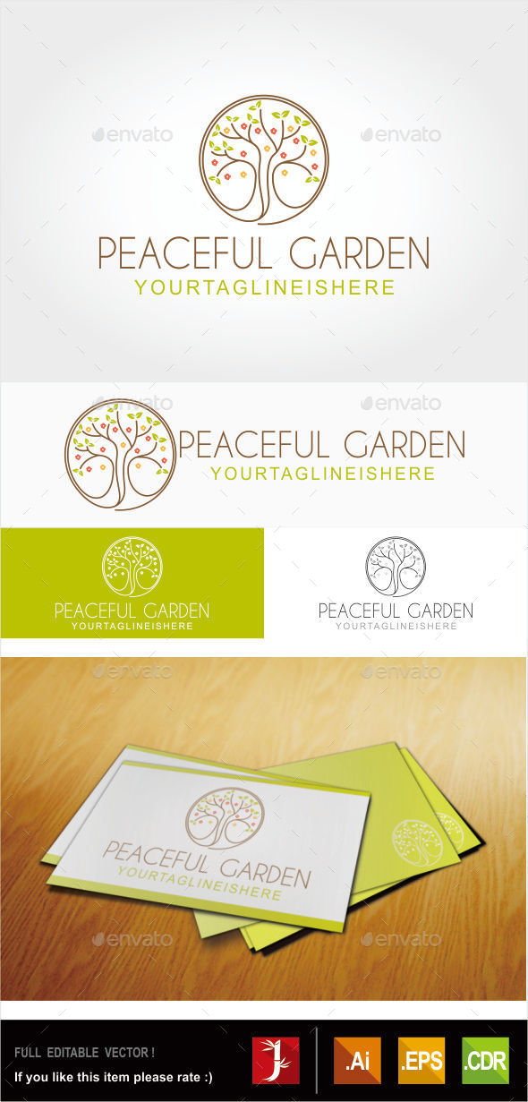 GraphicRiver Peaceful Garden 10829798