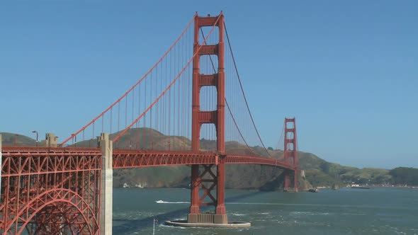 VideoHive Sunny Golden Gate Bridge 10 Of 11 10830346