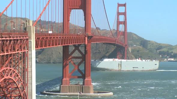 VideoHive Sunny Golden Gate Bridge 8 Of 11 10830359