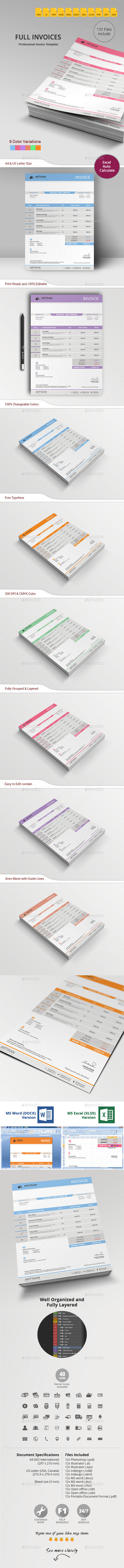 GraphicRiver Invoice 10831191