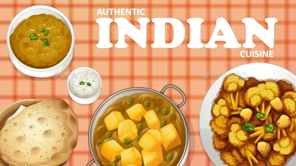 GraphicRiver Indian Food 10832498