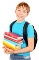 Schoolboy with a Books - PhotoDune Item for Sale