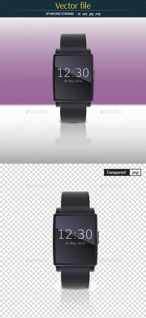GraphicRiver Electronic Watch 10832730