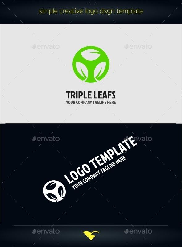 GraphicRiver Leafs Logo 10833064