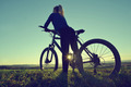 Girl on a bicycle  - PhotoDune Item for Sale