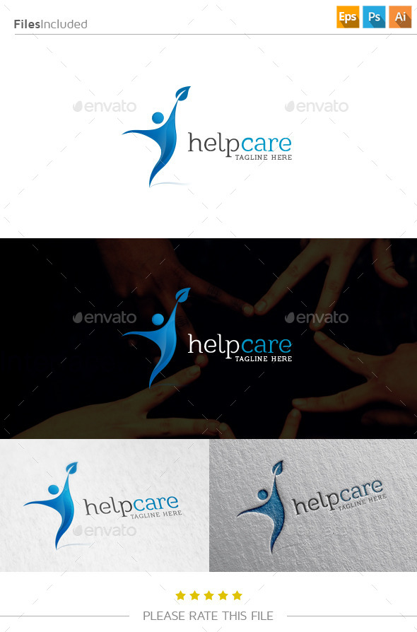 GraphicRiver Help Care Logo 10833492