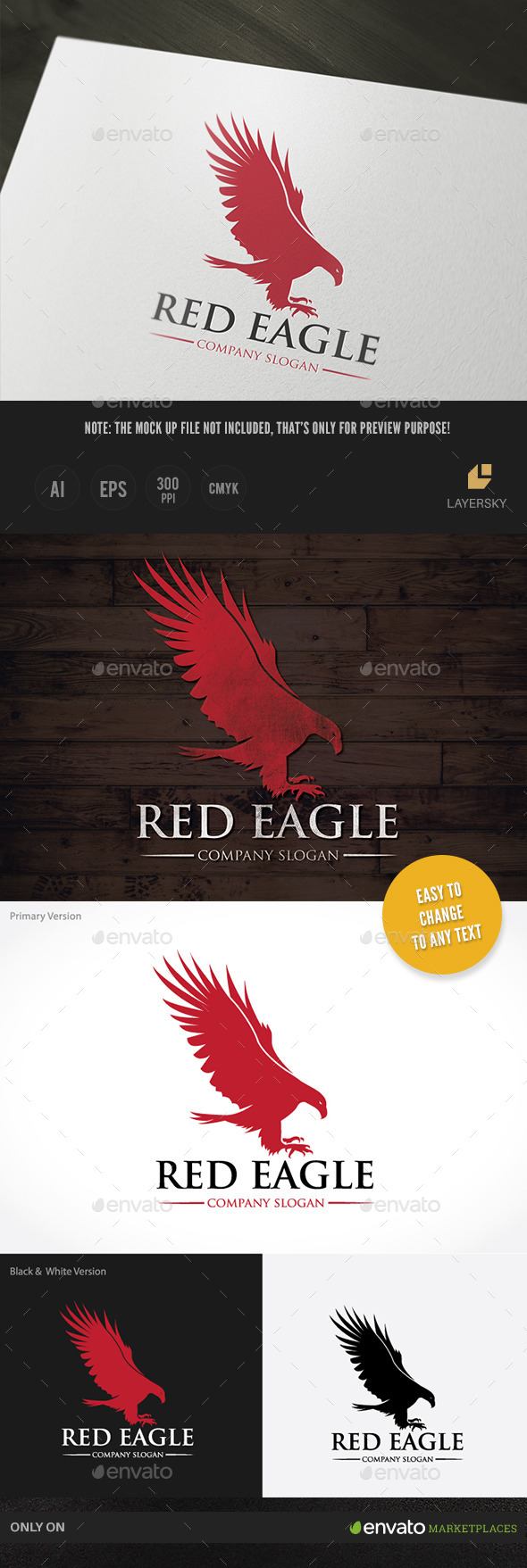 GraphicRiver Red Eagle 10833494