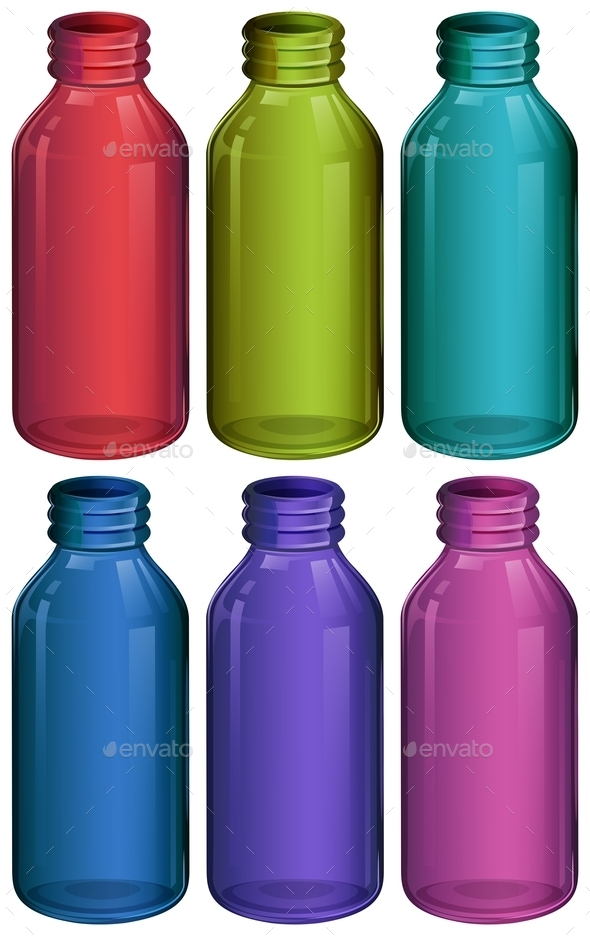 GraphicRiver Medicine Bottles Blank 10833659