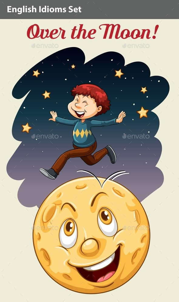 GraphicRiver Boy Over the Moon 10833808