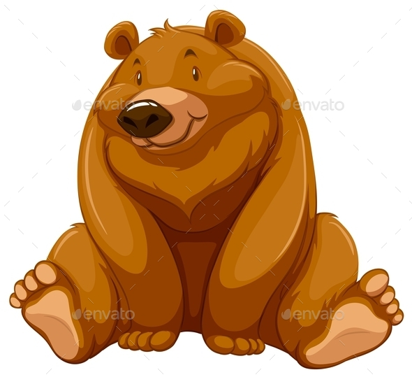 GraphicRiver Brown Bear 10833819