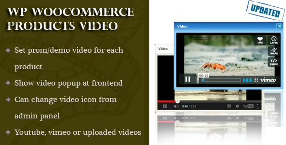 Woocommerce Products Video - CodeCanyon Item for Sale