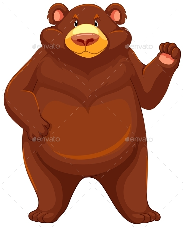 GraphicRiver Brown Bear 10833973