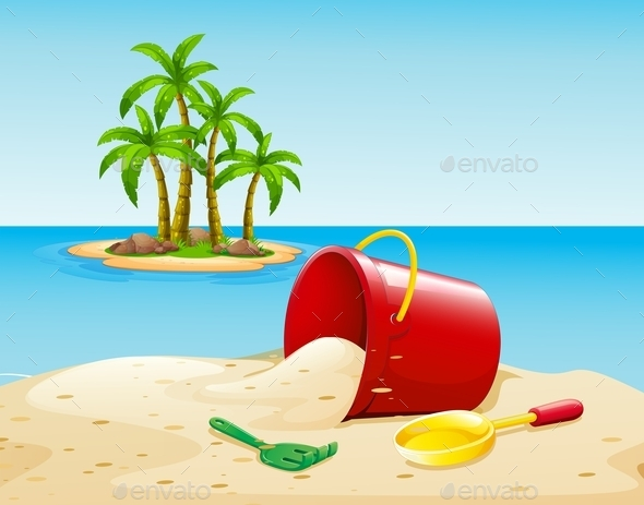 GraphicRiver Beach and Ocean 10833983