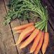 Bunch of fresh organic carrots. - PhotoDune Item for Sale