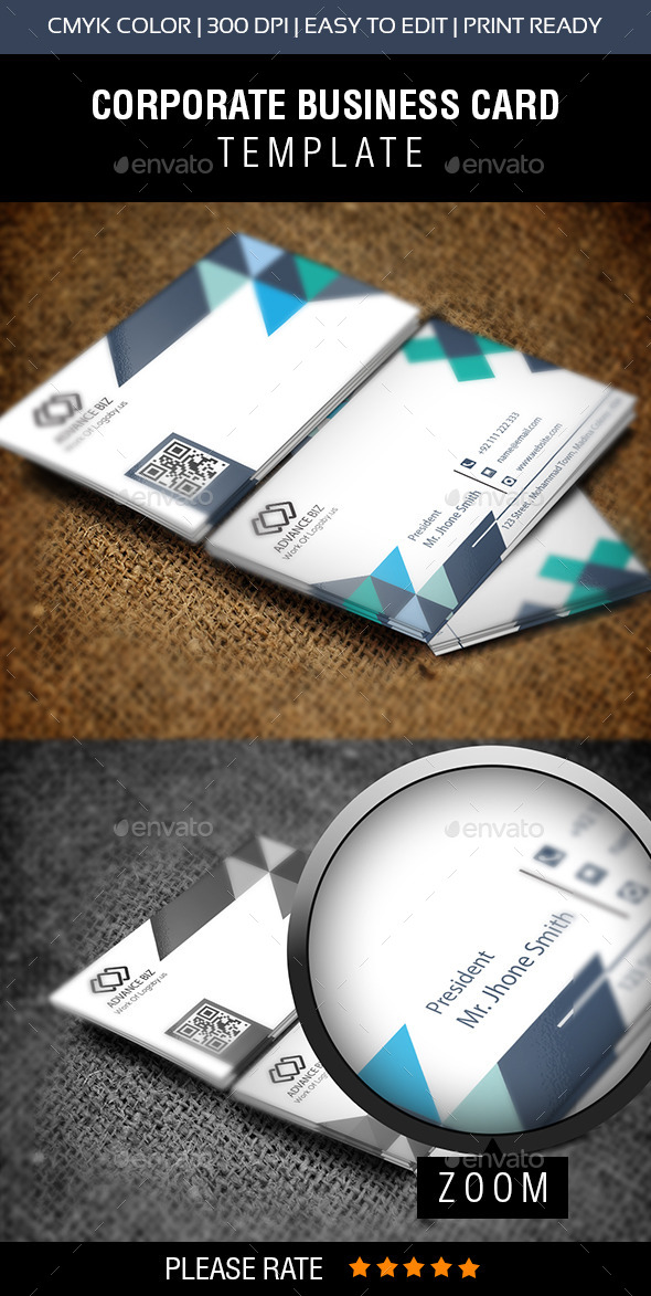 GraphicRiver Modern Property Business Card 10834510