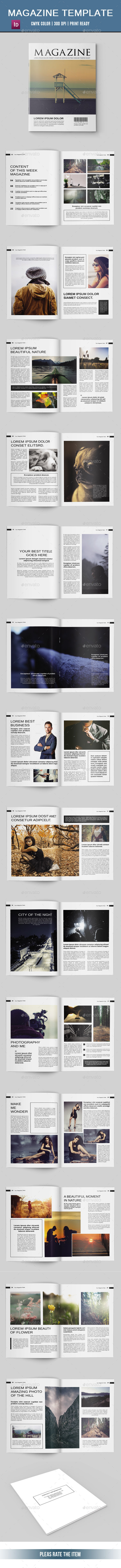 Minimal Multipurpose Magazine-V07
