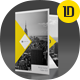 A4 Self Locking Multipurpose Presentation Folder 003 - GraphicRiver Item for Sale