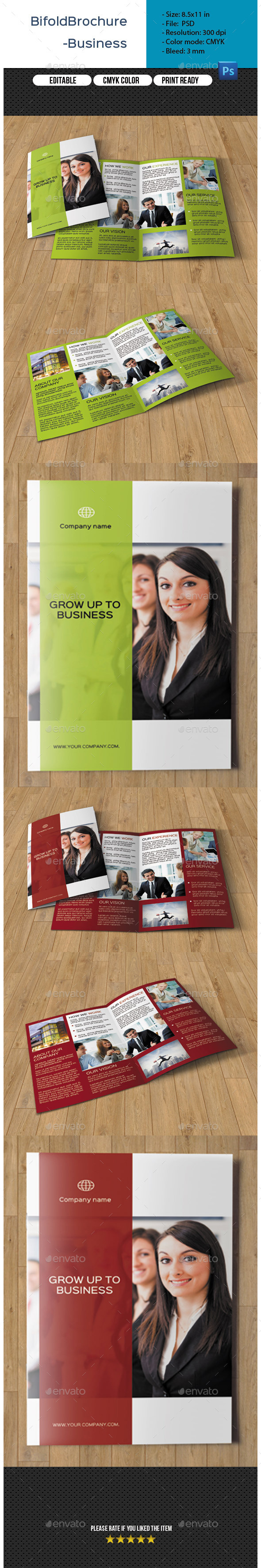 GraphicRiver 4 Pages Corporate Brochure-V228 10834841