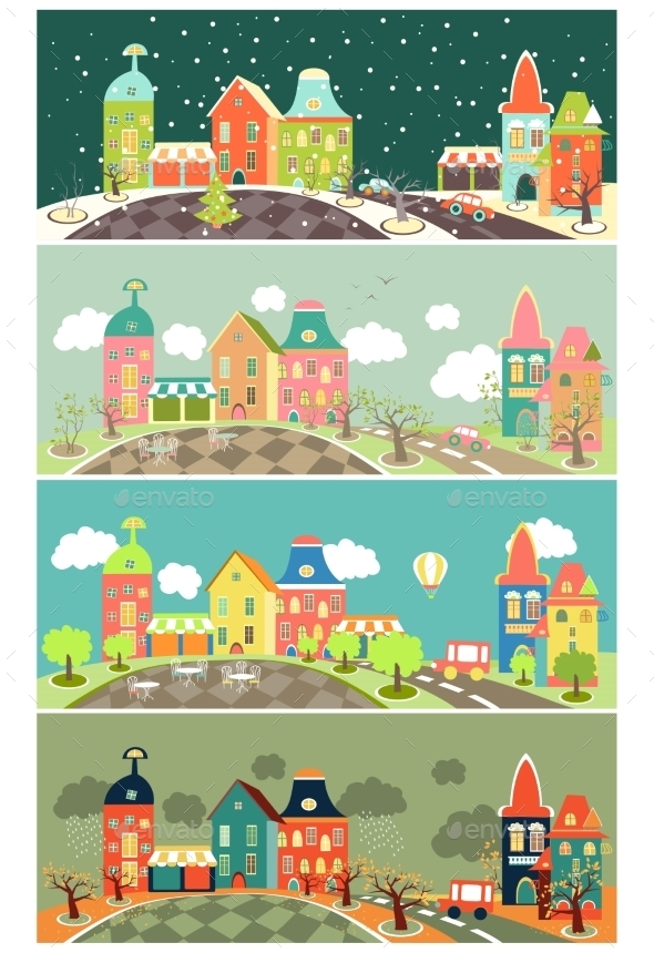 GraphicRiver Four Seasons 10835197