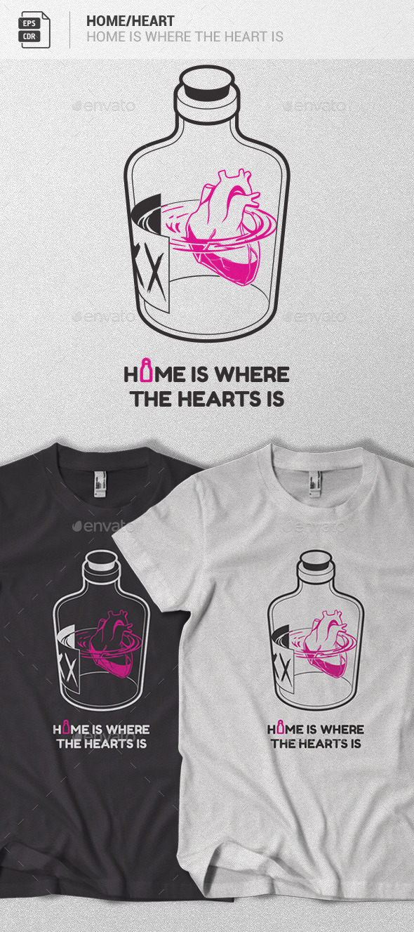 GraphicRiver Home is where the Heart Is 10414229