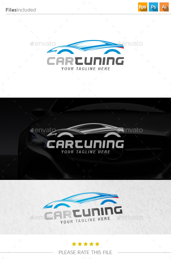 GraphicRiver Car Logo 10835329