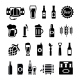 Set of Beer Icons - GraphicRiver Item for Sale