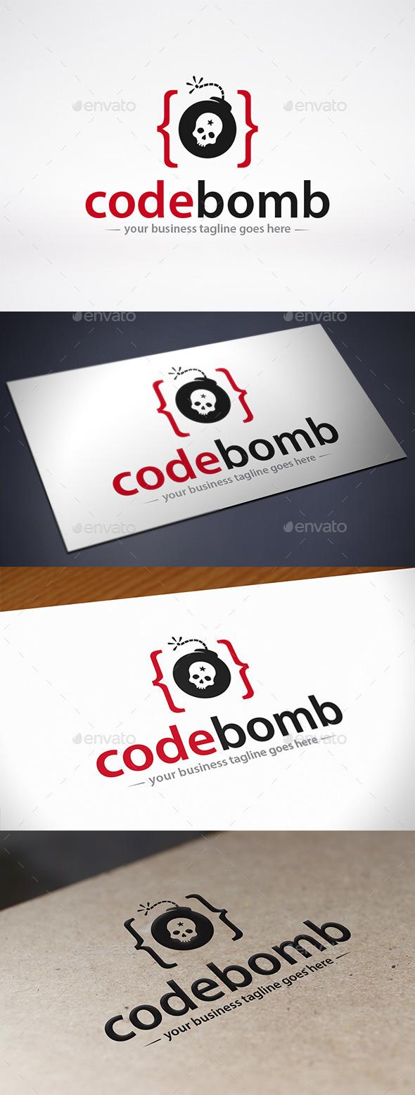 GraphicRiver Code Bomb Logo Template 10835898