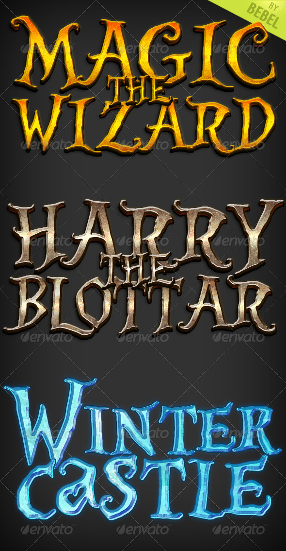 Magic Styles (Text Styles, ASL) - Text Effects Styles