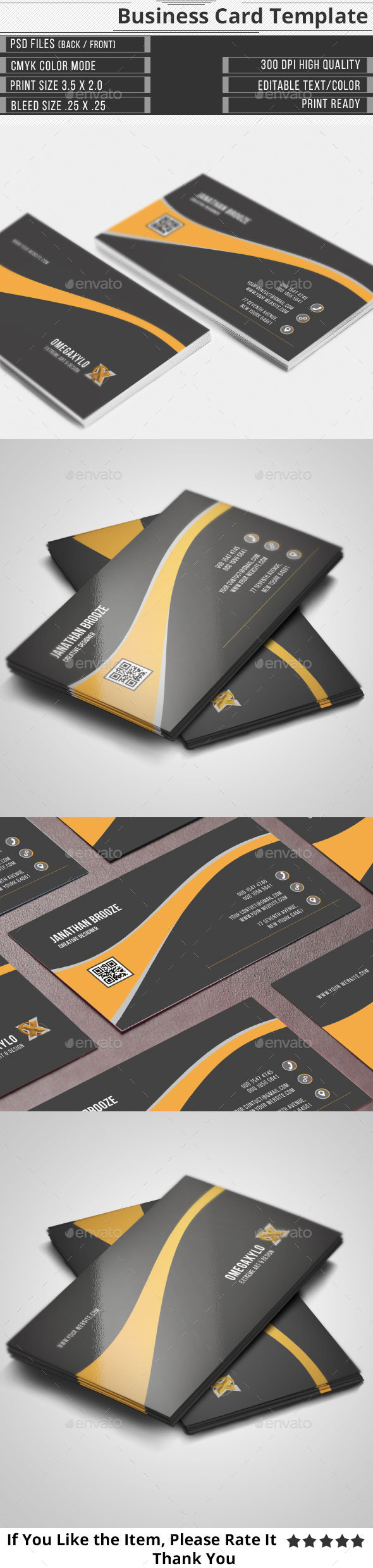 GraphicRiver Creative Business Card 10836966