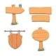 Wooden Pointers and Signs - GraphicRiver Item for Sale