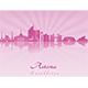 Astana Skyline - GraphicRiver Item for Sale