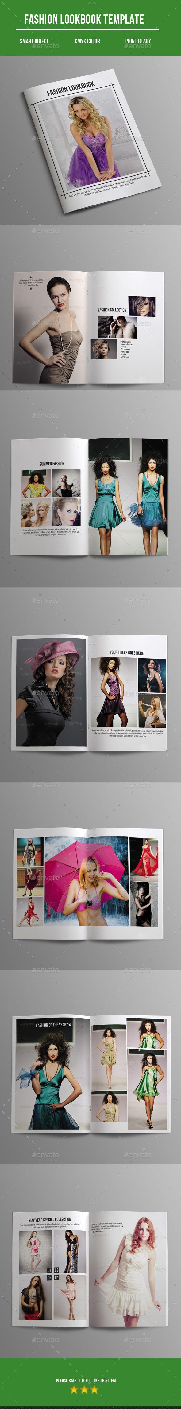 GraphicRiver Fashion Lookbook 10782268