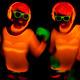sexy neon uv glow dancer - PhotoDune Item for Sale