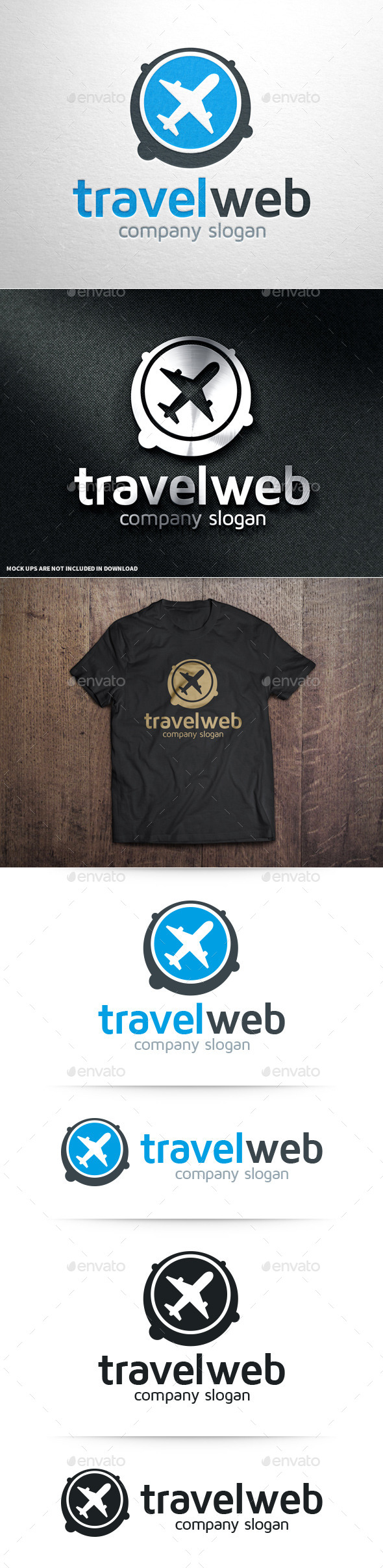 GraphicRiver Travel Web Logo Template 10839663