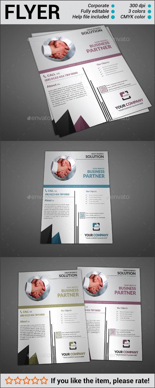 GraphicRiver Multipurpose Corporate Flyer 10840746