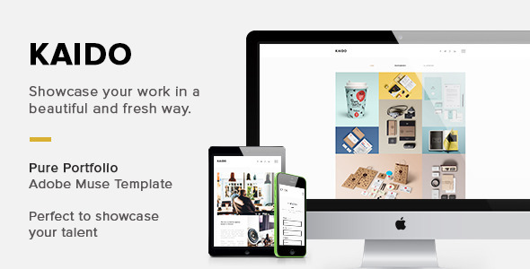 ThemeForest KAIDO Adobe Muse Template 10841005