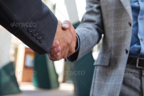 PhotoDune Business people shaking hands 1087958