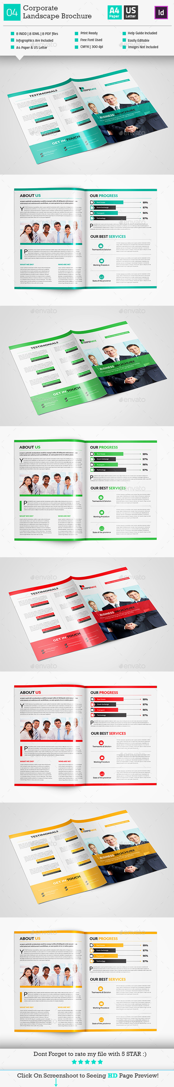 GraphicRiver Corporate Bi-Fold Brochure 10 10841698