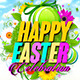 Happy Easter Celebration Flyer Template - GraphicRiver Item for Sale