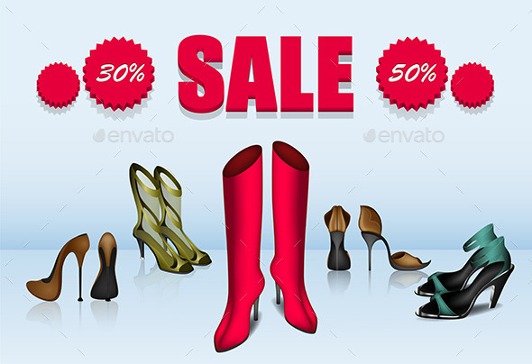 GraphicRiver Shoe Sale 10842728