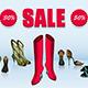 Shoe Sale - GraphicRiver Item for Sale