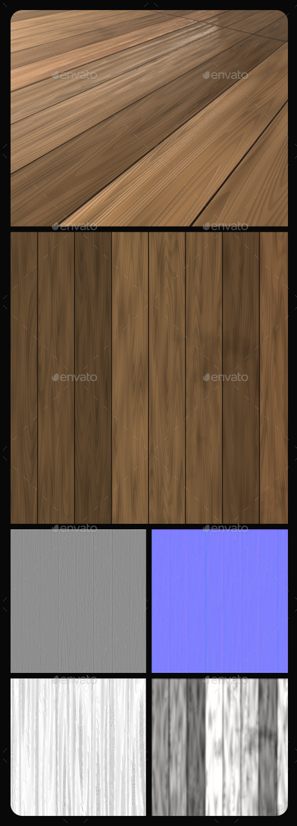 3DOcean Wood Planks Tile Texture 2 10842785