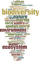 Biodiversity Word Cloud Concept - PhotoDune Item for Sale