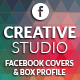 Facebook Timeline Cover & Box Profile - Creative  - GraphicRiver Item for Sale