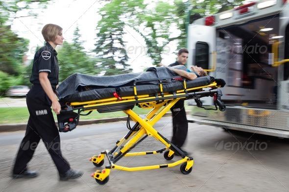 PhotoDune Ambulance Rush 1088148