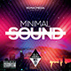 Minimal Sound CD Cover - GraphicRiver Item for Sale