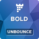 BOLD - Unbounce App Landing Page Template - ThemeForest Item for Sale